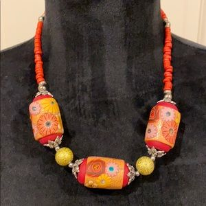 🌼 Vintage Beaded Necklace 🌼